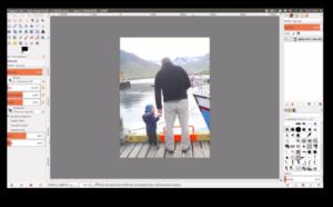 GIMP-lagaphoto