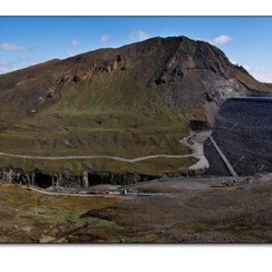 Stíflan við Kárahnjúka: Sigma SD10 - Panorama