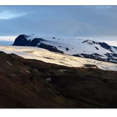 Myndin er tekin við kverkfjöll. Sigma SD10 Panorama mynd.
