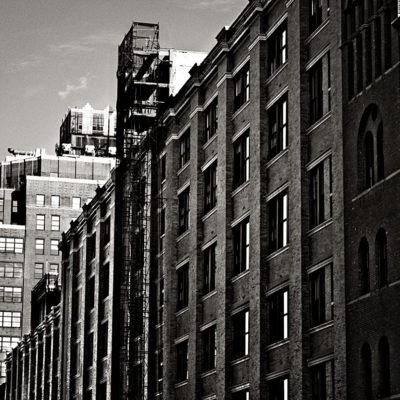New York. Svart/hvítt