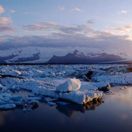 Jökulsárlón, glacier Lagoo